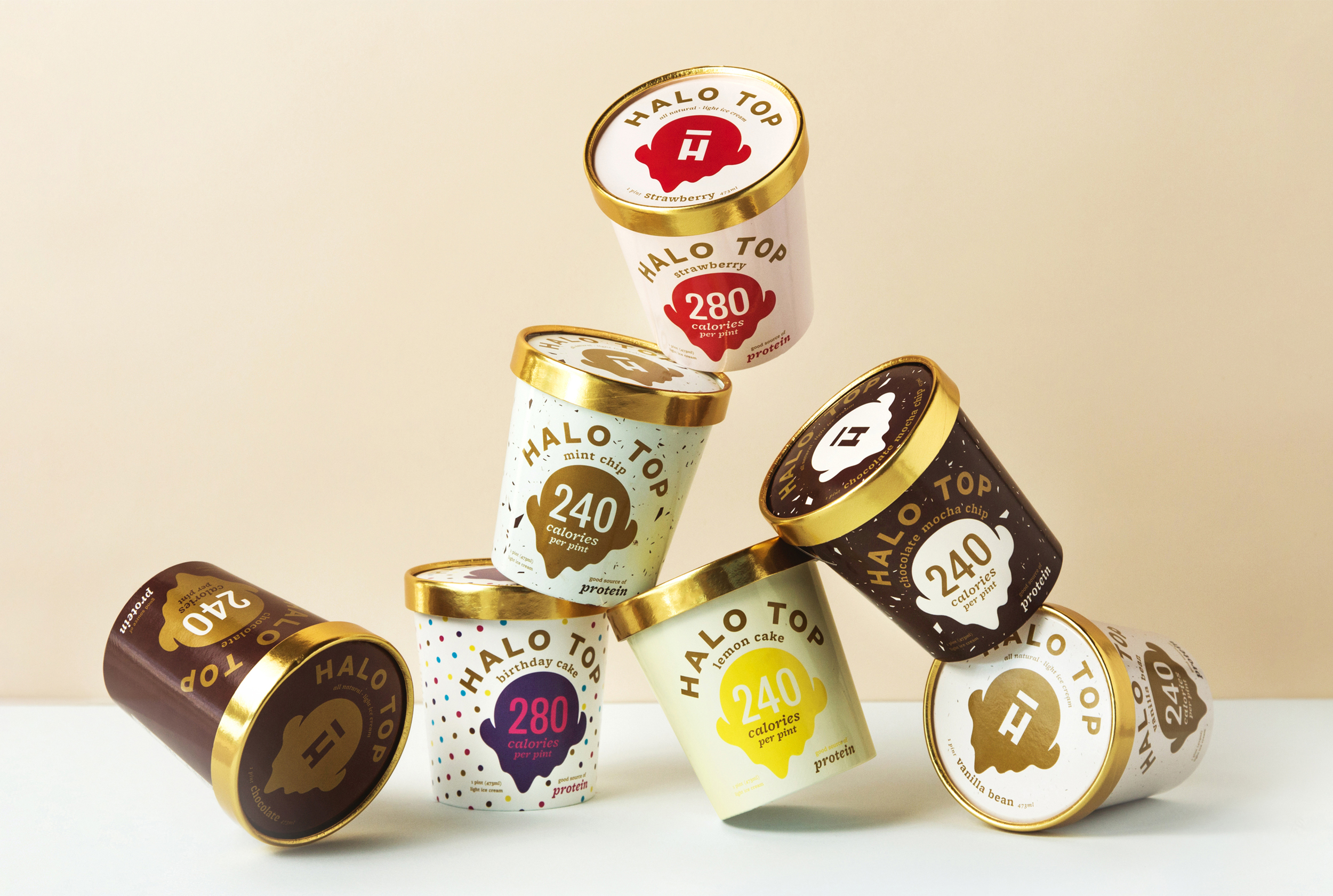 Halo Top Branding & Art Direction